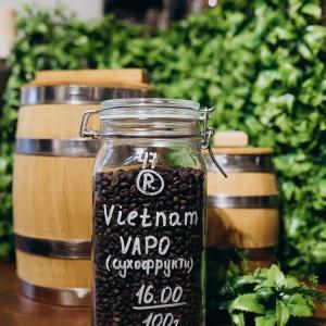 100% Робуста Вєтнам Вапо Сухофрукти
